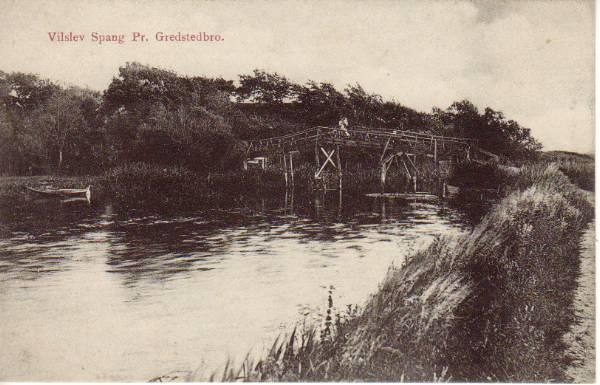 Vilslev Spang in 1911. Photo: Postcard from 1911.