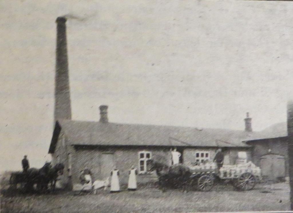 Gredsted Mejeri, før 1909.