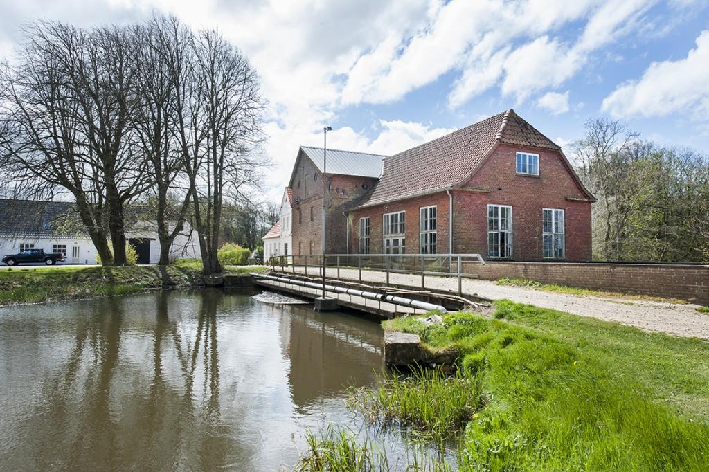 Die Mühle Jedsted wurde im 13. Jh. errichtet