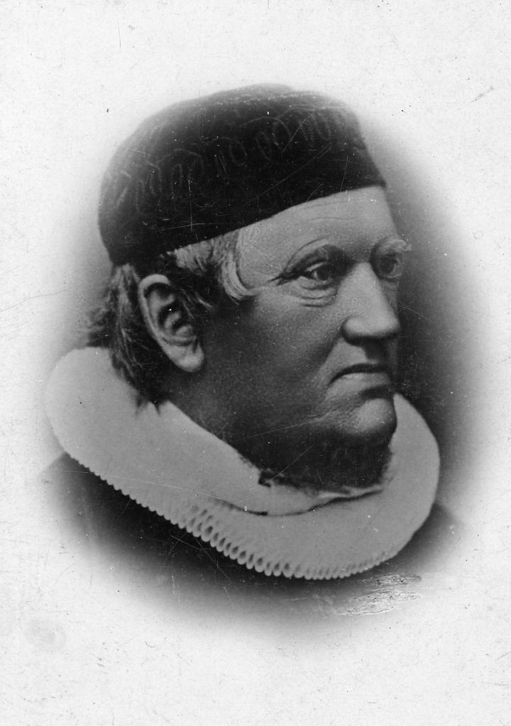 Pastor Hans Svejstrup. Foto: Vejen Lokalhistoriske Arkiv